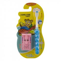 Детская зубная щетка Corlyse kids Tank NO.303, с игрушкой